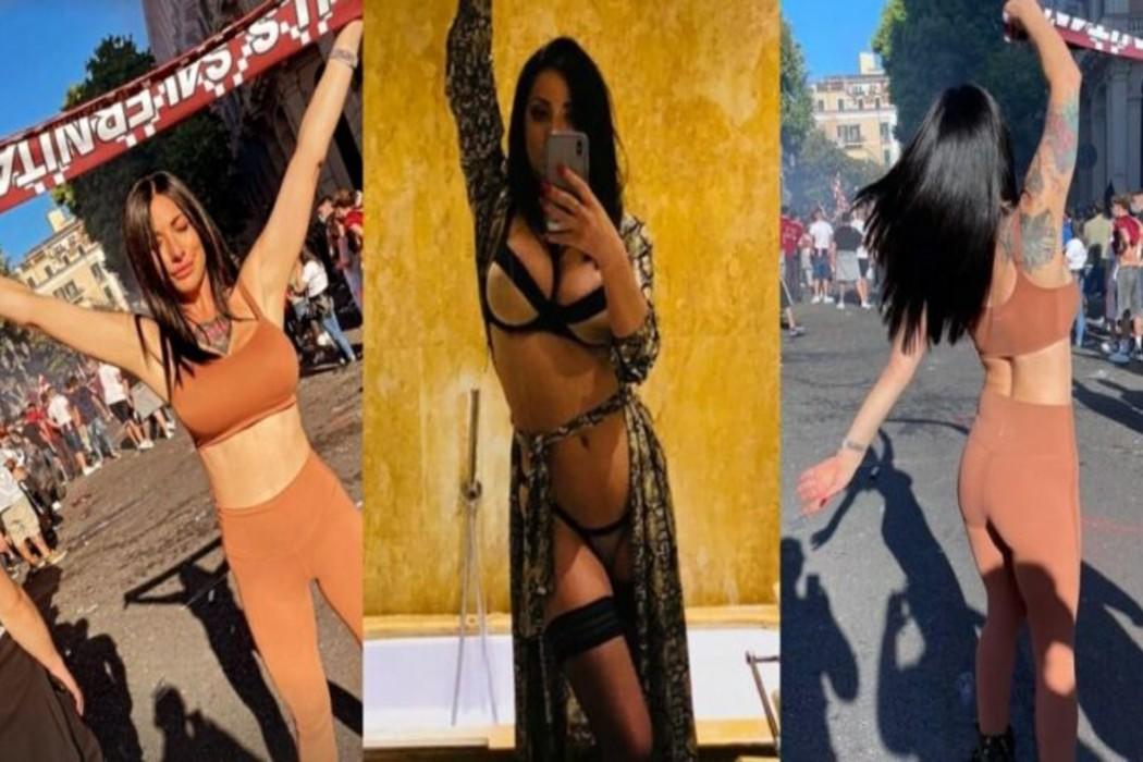 Πρισίλα Σαλέρνο: Η Ιταλίδα πορνοστάρ πανηγυρίζει την άνοδο της Σαλερνιτάνα! (pics)